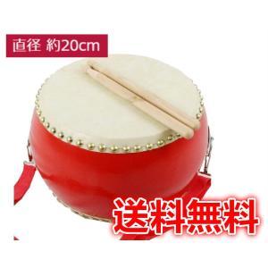 太鼓 おもちゃ 小太鼓 バチ2本 ショルダーベルト付 子供 キッズパーカッション 太鼓練習 盛り上げ太鼓 本格牛革張/和太鼓 打楽器