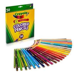 クレヨラ 色鉛筆 お絵かき いろえんぴつ 50色 塗り絵 ぬりえ 色えんぴつ おえかき 684050 正規品 smilefield