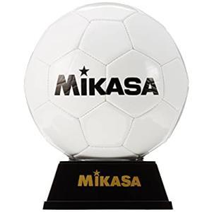 ミカサ(MIKASA) サッカー 記念品用マスコットボール(飾れるボール架台付き) 白 PKC2-W|smilefield