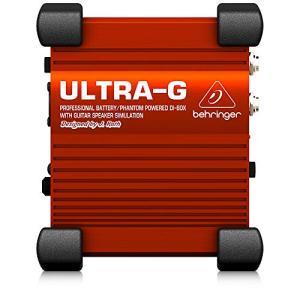 べリンガー ダイレクトボックス ギター用 キャビネットシミュレーター ULTRA-G GI100 smilefield