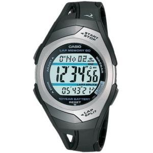 [カシオ] 腕時計 フィズ LAP MEMORY 60 STR300CJ1JF ブラック smilefield