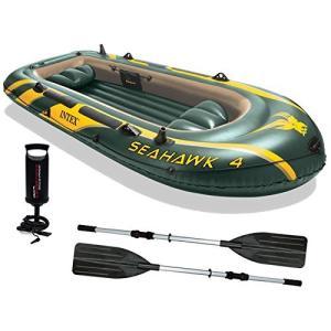 INTEX 68351 SEAHAWK 4 インテックス 4人用 ボート シーホーク4 エアーボート ラフティング ビーチグッズ 水遊び用? smilefield