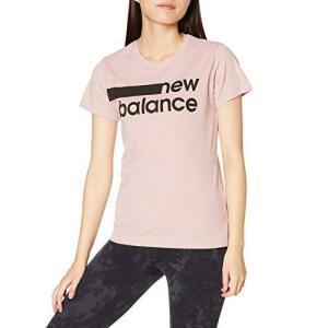 [ニューバランス] グラフィックプリント ショートスリーブ Tシャツ AWT01158 レディース SP1(サターンピンクヘザー|smilefield