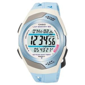 [カシオ] 腕時計 フィズ LAP MEMORY 60 STR300J2CJF ブルー smilefield