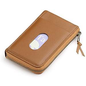 日本製 本革 パスケース 兼用 カードケース キャメル|smilefield