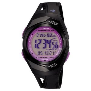 [カシオ] 腕時計 フィズ LAP MEMORY 60 STR300J1CJF ブラック smilefield