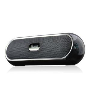 Divoom バッテリー搭載 3W×2出力 MP3プレーヤー&スピーカー iTour-Boom Black smilefield