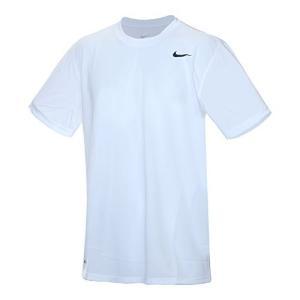 ナイキ DRI-FIT レジェンド S/S Tシャツ ホワイト/ブラック 718834 100 S|smilefield