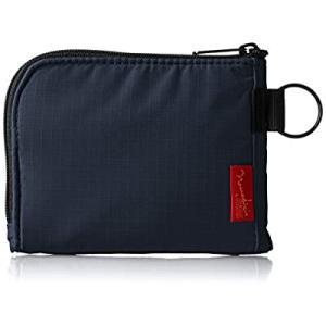 [ノーマディック] 財布 小銭入れ L字型コンパクト財布 SA-08 紺|smilefield