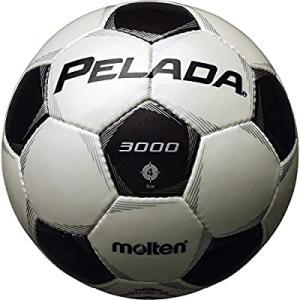 molten(モルテン) サッカーボール ペレーダ3000   4号 白×黒 F4P3000|smilefield