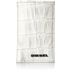 (ディーゼル) DIESEL メンズ キーケース 型押しクロコ X03901P0178 UNI ホワイト T1003 smilefield