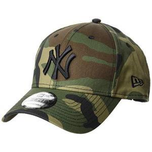 (ニューエラ)NEW ERA 9FORTY ニューヨーク・ヤンキース ウッドランド × ブラック キャップ One Size|smilefield