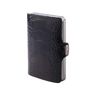 I-CLIP 財布 オーストリッチレザー (5種類のバリエーションあり) US サイズ: Small カラー: ブラック|smilefield