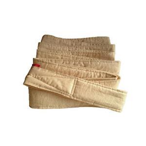 昔ながらのおんぶ紐 一本 紐 サイズL 細め(長さ約5m、幅6cm)生成り 綿100% 日本製 首がすわった頃から使用可|smilefield