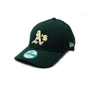 NEW ERA (ニューエラ) MLB アジャスタブル キャップ 9FORTY アメリカンリーグ アスレチックス|smilefield