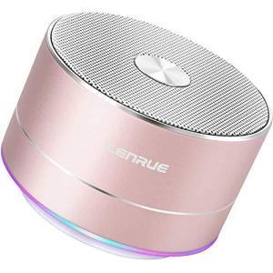Lenrue A2 Bluetooth スピーカー ポータブル ブルートゥース スピーカー ミニ ワイヤレススピーカー 低音強化 3W拡声 smilefield