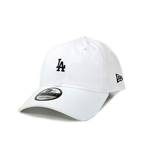 NEW ERA (ニューエラ) ローキャップ ミニロゴ MLB 9TWENTY ロサンゼルス ドジャース LOS ANGELES DODGERS WHITE/BLACK|smilefield
