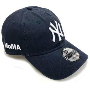 NY ヤンキースキャップ ネイビー MoMA Edition|smilefield