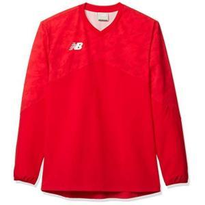 [ニューバランス] ロングスリーブ Tシャツ JMTF0411 メンズ RED(レッド) S|smilefield