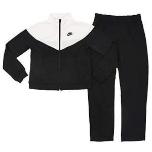 [ナイキ] レディース トレーニングウェア ポケット トラック スーツ ブラック/ホワイト/ブラック BV4959 010 M|smilefield