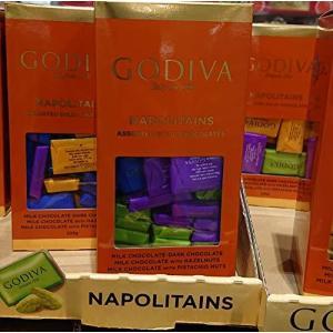 GODIVA ゴディバ ナポリタン 4種アソート チョコレート 225g smilefield