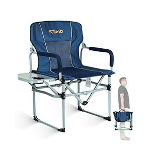 iClimb デッキチェア アウトドア チェア コンパクト 折りたたみいす キャンプチェア キャンプ用 椅子 ローチェア|smilefield