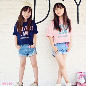 【製品仕様】 ■商品名 子供服 セットアップ 女の子 半袖Tシャツ デニムショートパンツ 白 ピンク...