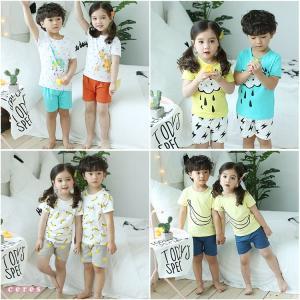 パジャマ キッズ 夏 半袖 子供服 女の子 男の子 ルームウェア パジャマセット韓国子供服
