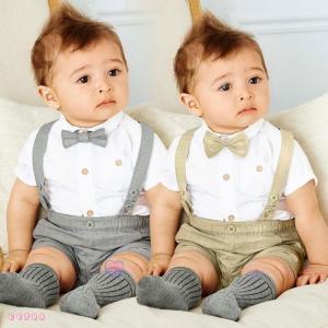 スーツ 赤ちゃん セレモニー 結婚式 フォーマル ベビー服 ...