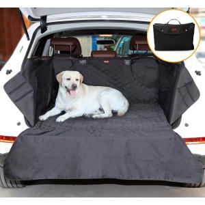 Doglemi ペット用SUVトランクマット 犬用ドライブシート 車用ペットシート 防水 滑り止め トランクエリアに適用 80×100cm(ブラック)|smilehometen