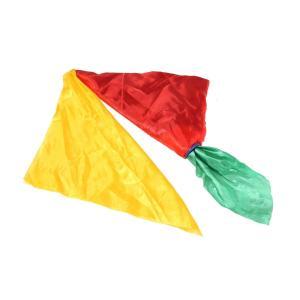 魔法 トリック シルク スカーフ マジック道具  舞台 ハンカチ 小道具 シルク 色変更 4色 魔法...