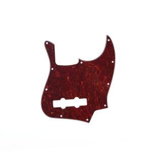 Musiclily 10 穴 USA/メキシコFender Jazz Bassスタイルジャズベース JB用ピックガード、4プライ赤べっ甲|smilehometen
