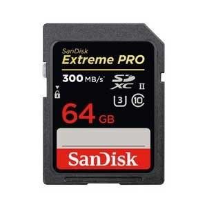 サンディスク SDXCメモリカード 64GB Class10 UHS-IIエクストリーム プロ SD...