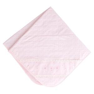 赤ちゃんの城 アフガン ウィッシュ スムース 84×84cm ピンク