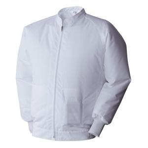 アタックベース 空調風神服 白衣ブルゾン 003 09 ホワイト L|smilehometen