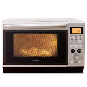 アイリスオーヤマ 過熱水蒸気 スチームオーブンレンジ 24L ホワイト MO-F2402|smilehometen