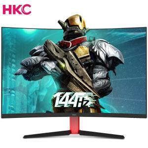 HKC ゲーミング モニター 31.5 インチ 144HZ VA 曲面 R1800 ウルトラワイド DVI+HDMI+DP GX32 ゲーム専用|smilehometen