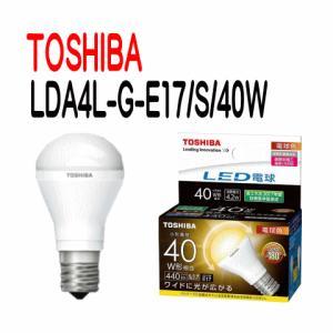 【お得な10台セット】東芝 LED電球 ミニクリプトン形 断熱材施工器具対応 広配光タイプ 小形電球40W形相当 LDA4L-G-E17/S/40W 【LDA4LGE17S40W】