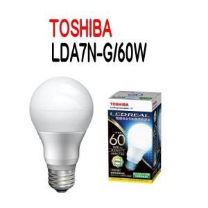LED電球 TOSHIBA(東芝ライテック) E26口金 一般電球形 全方向タイプ 白熱電球60W形相当 昼白色  LDA7N-G/60W 【LDA7NG60W】|smilelight
