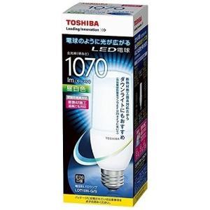 【在庫あり】LED電球 E26口金 T形 全方向タイプ 白熱電球60W形相当 昼白色 TOSHIBA(東芝ライテック) LDT10N-G/S 【LDT10NGS】|smilelight