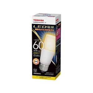 LED電球 E26口金 T形 白熱電球60W形相当 電球色 全方向 TOSHIBA(東芝ライテック)LDT7L-G/S/60W(LDT7LGS60W)(LDT8L-G/S/60Wの後継機)