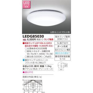LED小形シーリングライト TOSHIBA(東芝ライテック) LEDG85030 ※ランプ別売り|smilelight