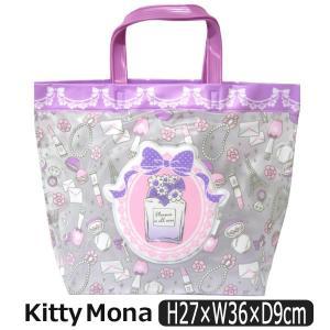 女の子 Kitty Mona キティモナ トート型プールバッグ 9000パープル 363702043...