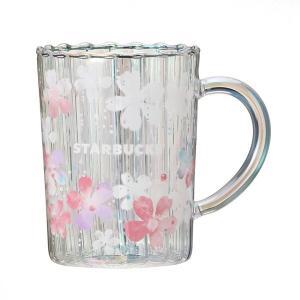 smilemile sakura2020heat resistantglassmugsparkle - 【第2弾】スタバさくら2020タンブラー・マグカップなど一挙紹介!