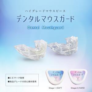 デンタル マウスピースガード ソフト&ハード 正規品 歯列ケア 歯ぎしり いびき