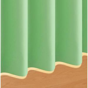 20色×54サイズから選べる防炎・1級遮光カーテン【MINE】マイン 幅100cm×2枚/90cm  ミントグリーン|smilepocket