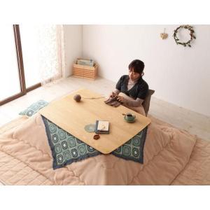 天然木オーク材 北欧風こたつテーブル Trukko トルッコ 長方形 105×75  オークナチュラル smilepocket