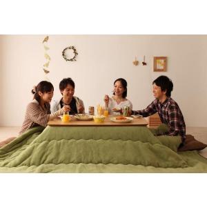 天然木オーク材 北欧風こたつテーブル Trukko トルッコ 長方形 120×80  オークナチュラル smilepocket