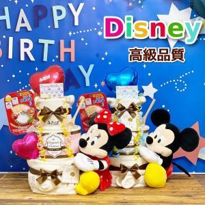 おむつケーキ 出産祝い ディズニー ぬいぐるみ オムツケーキ...