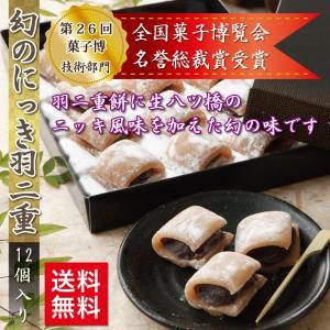 幻のにっき 12個入 羽二重餅 第26回全国菓子博覧会 名誉総裁賞受賞 ゆうパケット|smileshoutengai